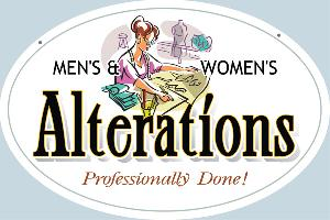 Alterations Sign