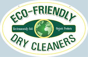 Eco Friendly Dry Cleaners Sign