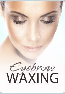 Eyebrow Waxing Sign
