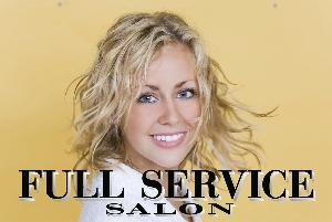 Full Service Salon Sign