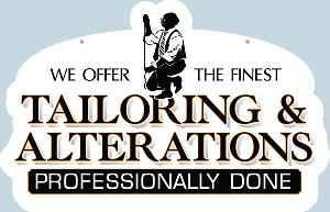 Tailoring and Alterations Sign