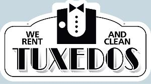 Tuxedo Rent and Clean Sign