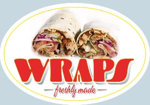 Wrap Sandwich Sign