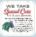 SPECIAL CARE Sign<br>#1042-A--HARD PANEL
