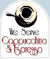 Cappuccino and Espresso Sign