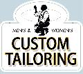 CUSTOM TAILORING Sign<br>#1019-A--HARD PANEL