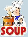 SOUP Sign<br>#4031-A--HARD PANEL