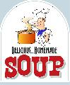 HOMEMADE SOUP Sign<br>#4029-A--HARD PANEL