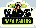 KIDS' PIZZA PARTIES Sign<br>#3053-A--HARD PANEL