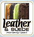 LEATHER & SUEDE<br>CLEANING Sign<br>#1005-A--HARD PANEL