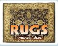 RUGS Cleaned Sign<br>#1033-A--HARD PANEL