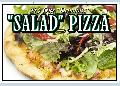 Salad Pizza Sign