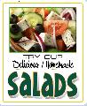 SALADS Sign<br>#4025-A--HARD PANEL