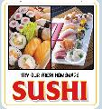 SUSHI Sign<br>#4058-A--HARD PANEL