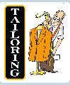 TAILORING Sign<br>#1023-A--HARD PANEL