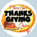 Thanksgiving Catering Sign