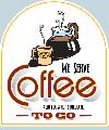 COFFEE To Go Sign<br>#4008-A--HARD PANEL