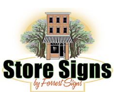 Store Signs by Forrest Signs